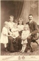 Mathias Weninger mit Familie