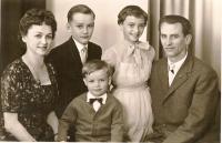 Hermann Weninger mit Familie